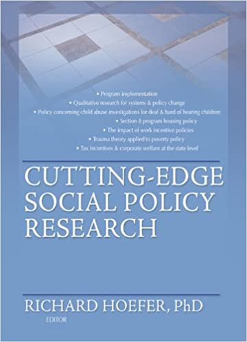 Cutting Edge Program For Children With >> Cutting Edge Social Policy Research Kindle Edition By Richard
