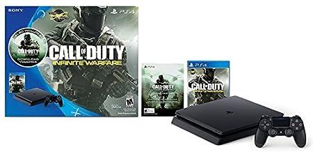 PlayStation 4 Slim 500GB Console - Call of Duty: Infinite Warfare Bundle