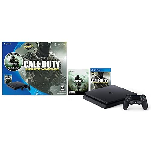 PlayStation 4 Slim 500GB Console - Call of Duty: Infinite Warfare Bundle [Discontinued]