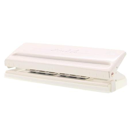 Amazon.com: Chris-Wang - Perforadora de papel ajustable de ...
