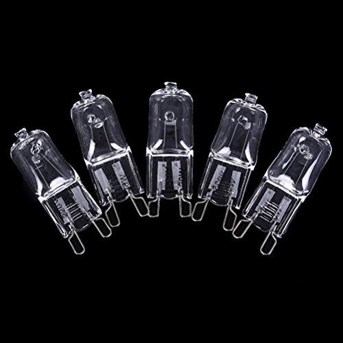 2900k Lamp - Cacys-Store - 5pcs/lot Dimmable G9 Halogen Bulb 20W/40W/60W 220V 2900K Warm White For Wall Lamp Clear Glass Each With An Inner Box Whosesale