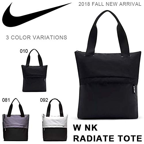 3f69b7778b9 Nike Radiate Women s Polyester Grey Black Training Tote Bag Vast   Amazon.in  Bags, Wallets   Luggage
