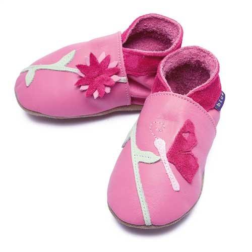 Inch Blue, Mädchen Babyschuhe - Krabbelschuhe & Puschen  rosa 22-23 cm