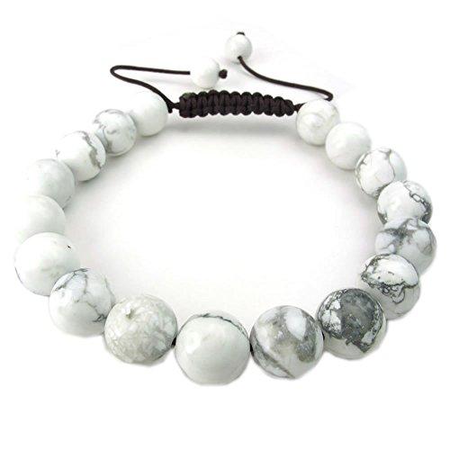 KONOV Gemstone Turquoise Bracelet Adjustable