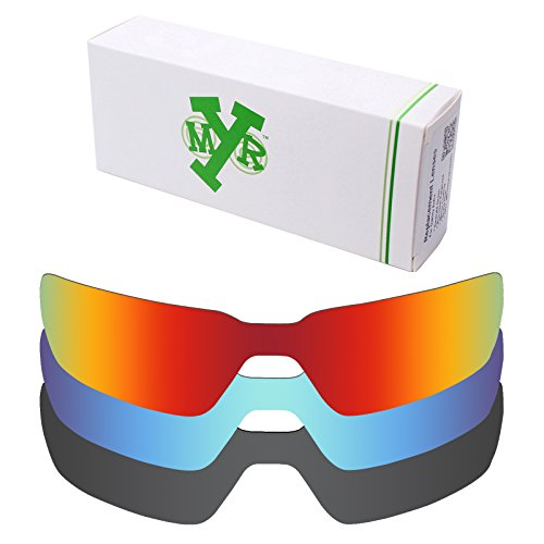 Mryok 3 Pair Polarized Replacement Lenses for Oakley Probation Sunglass - - Sunglasses Probation