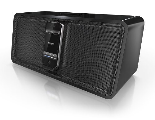 sonoro Stereo iPod/iPhone Docking Station cuboDock schwarz