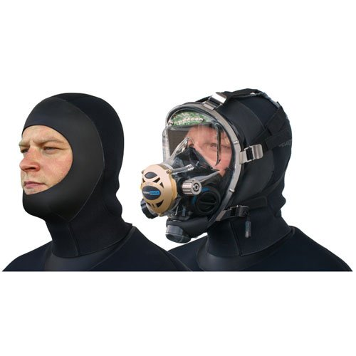 Seasoft Pro/C6 6mm Dry Suit Hood for Full Face Mask (FFM) by Seasoft