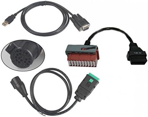 SATKIT S Jumper s1279 1279 Cable Adaptador para PP2000 Lexia-3 Citroen Peugeot Nemo Boxer III Bipper