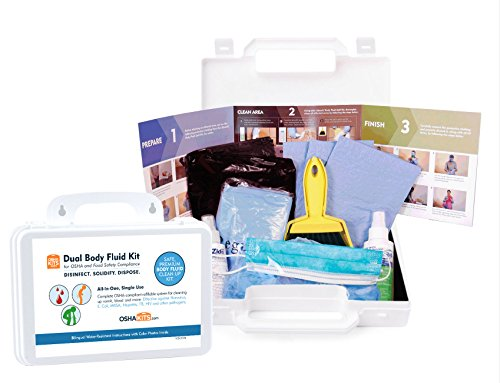 Northfield Light One (OSHA and Food Safety (Norovirus) Biohazard Spill Kit (1 kit))