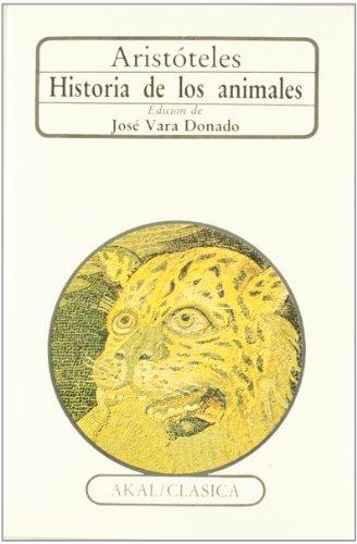 Descargar Libro Historia De Los Animales Aristóteles