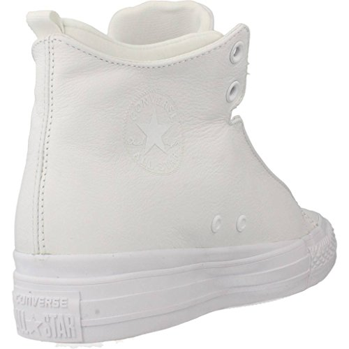 Converse Basket, Color Blanc, Marca, Modelo Basket CTAS Selene Monochrome Leather Blanc