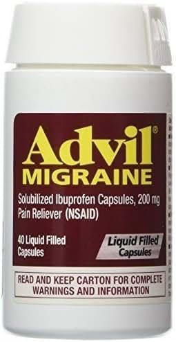 Advil Migraine Liquid Filled Capsules - 40 Ct