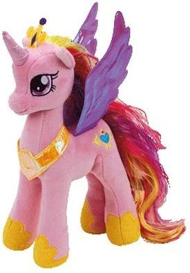 Amazon.com: TY My Little Pony, princesa Cadence de tejido ...