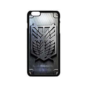 Happy Attack On Titan Cell Phone Case for Iphone 6