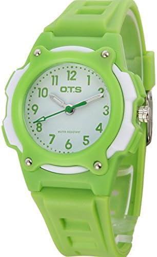 スポーツデジタル腕時計女の子防水かわいいwatch-f