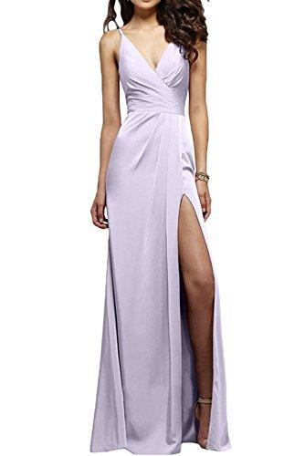 Elegant Lang Festlichkleider Flieder Partykleider Chiffon mia Abendkleider Braut Brautjungfernkleider La Etuikleider Schwarz ZqPwHzEPI