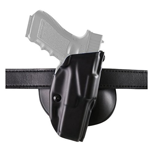 Free Safariland 6378 ALS, Paddle & Belt Slide Holster, Glock 20, 21 w/ITI M3, Plain Black, Left Hand