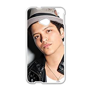 Happy Bruno Mars Brand New And Custom Hard Case Cover Protector For HTC One M7
