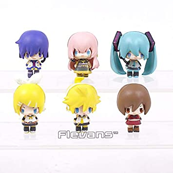 Amazon.com: GrandToyZone Set Figure Series - Hatsune Miku ...