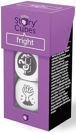 Rory Story Cubes Fright Juego de Mesa de Dados para Crear Cuentos e Historias, temática Miedo (podría no Estar en español): Amazon.es: Juguetes y juegos
