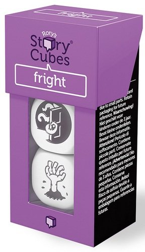 Rory's Story Cubes Fright by The Creativity Hub Ages 6+ - 1 or more Players - http://coolthings.us