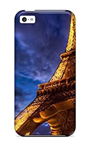 High-end Protector Diy For Iphone 5/5s Case Cover (eiffel Tower Hdr)