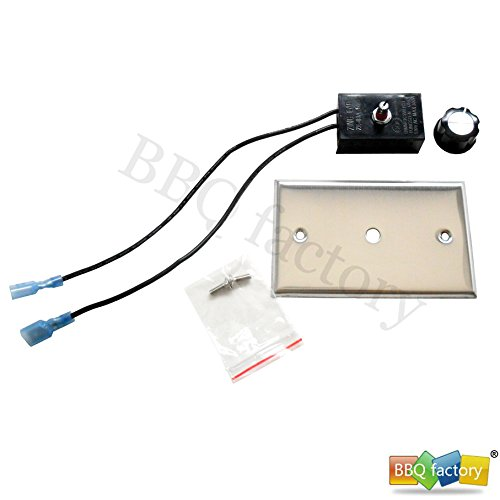 bbq factory Variable Speed Electric Motor Control for Fireplace Fan / Fireplace Blower Kit (Variable Speed Blower Kit)