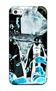 New Fashion Premium Tpu Case Cover For Iphone 5/5s - Luffy Vs Admirals