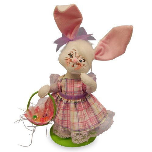 Annalee - 12in Easter Parade Girl Bunny