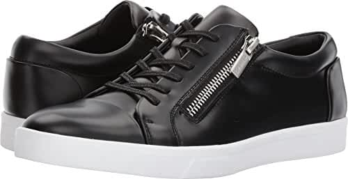 Calvin Klein Men's Ibrahim Box Leather Fashion Sneaker