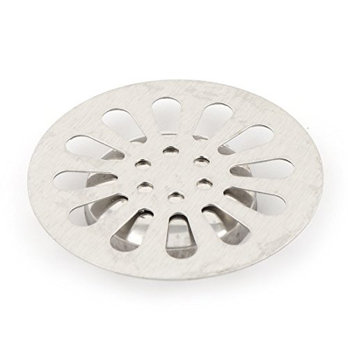 DealMux Couvercle moul/é en acier inoxydable pour bonde de douche