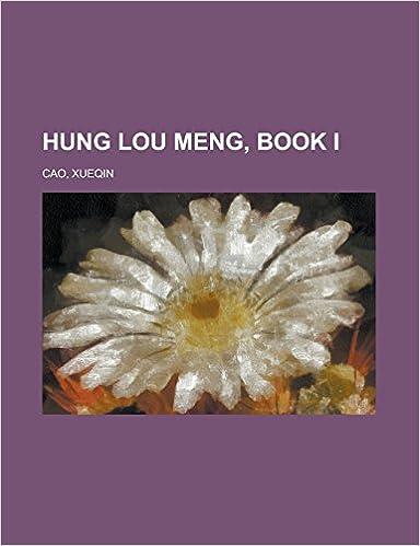 Télécharger l'ebook pour jsp Hung Lou Meng, Book I 1236704525 en français PDF