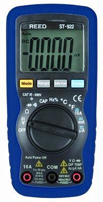 Reed Auto-Ranging, Average-Sensing Digital Multimeter