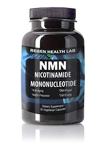 NMN β-Nicotinamide Mononucleotide (125mg - 30 Capsules) | Increase NAD+  Levels | Anti-Aging |