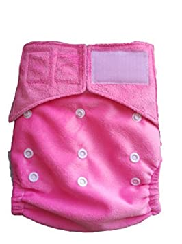 Amazon.com : Cloth Baby Diapers. One Size fits all Baby Diaper Cover with triple Layer Microfiber Inserts. Best Velcro closure type. : Baby