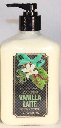 Bath and Body Works Winter Vanilla Latte Body Lotion 12 Fl Oz