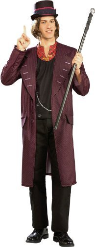 Rubie's Charlie and The Chocolate Factory Willy Wonka, Multicolored, One Size Costume]()