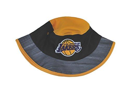 ADIDAS Men's NBA Hat Los Angeles Lakers Bucket Fashion Muti-color Cap (Large/X-Large)