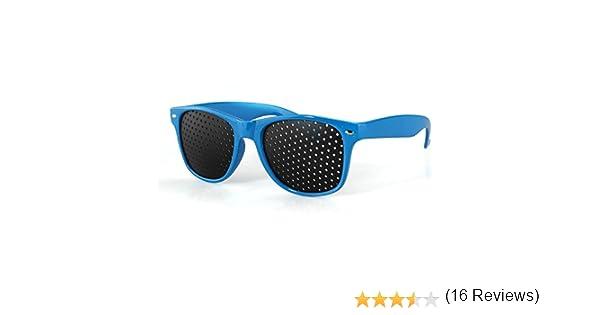 4ceff7ec7c Anteojos Gafas Reticulares con Agujeros para Mejorar Vista Visual Ojo  Lectura: Amazon.es: Deportes y aire libre