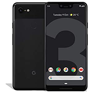 Google Pixel 3 XL 64GB Unlocked GSM & CDMA 4G LTE Android Phone w/ 12.2MP Rear & Dual 8MP Front Camera – Just Black (Renewed)