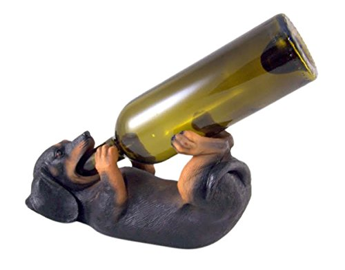 Weenie Wino Dachshund Wine Bottle Holder by DWK