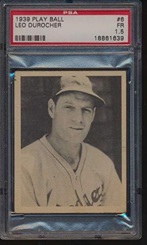1939 Play Ball #6 Leo Durocher HOF PSA 1.5 F 51964