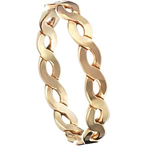 14k Gold Filled Thick Braid Band Thumb Ring (11)