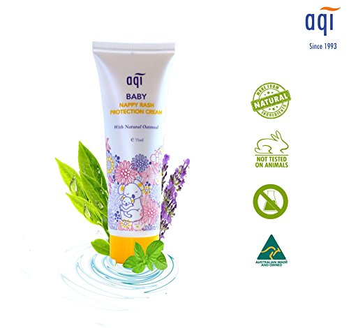 AQI Baby Nappy Rash Cream for Baby's Sensitive Skin - Toddler Rash Cream - Made for Infants & Babies' Delicate Skin to Provide Relief from The Discomfort of Nappy Rash - 100ml