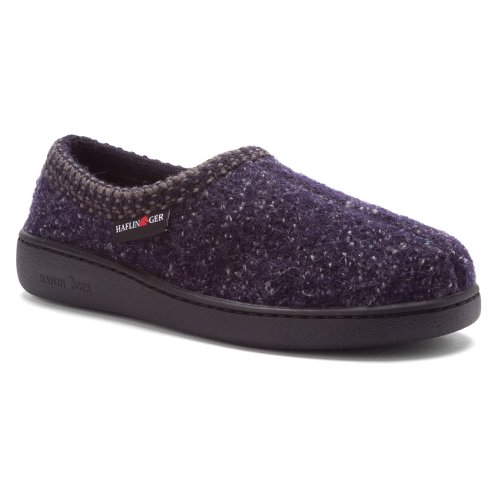 Haflinger Womens Atb Slip-On Loafer Navy Speckle aqpiNVe4