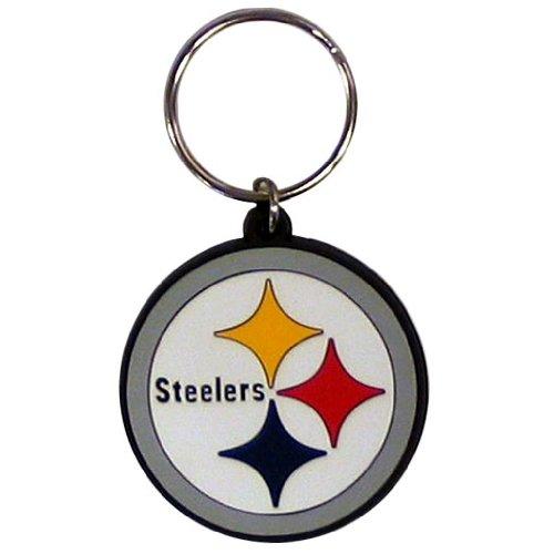 NFL Pittsburgh Steelers Flex Rubber Key Chain