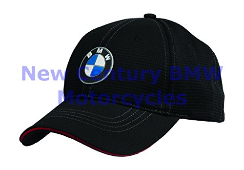 BMW Genuine Motorcycle Motorrad Unisex Performance Hat Cap Black One Size