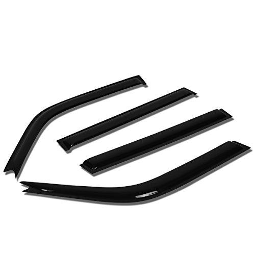 For RAV4 XA10 4pcs Tape-On Window Visor Deflector Rain Guard (2007 Rav 4 Driver Visor)
