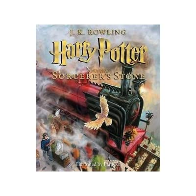 Toy Store - Harry Potter and the Sorcerer's Stone NEW Illustrated Edition by J K Rowling - New Arrival: Toys & Games