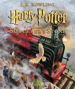 Harry Potter and the Sorcerer's Stone NEW Illustrated Edition by J K Rowling